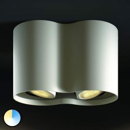 Philips Hue Pillar LED-Spot 2flg. weiß Dimmsch.