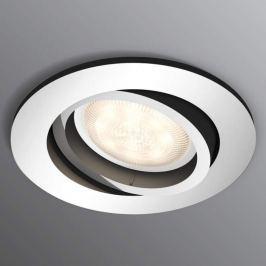 Philips Shellbark LED-Einbauspot WarmGlow chrom