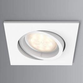 Philips Shellbark LED-Einbauspot eckig weiß