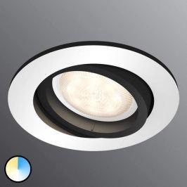Philips Hue Milliskin LED-Einbauspot rund alu Erw.