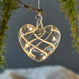 Manuell verzierte LED-Dekorationslampe Vein Heart