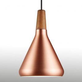 Kupferfarbene Hängeleuchte Float 18 cm