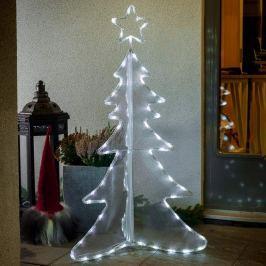 Dreidimensional gestalteter LED-Baum 120 cm