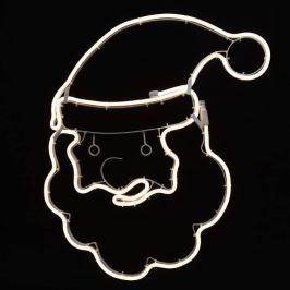 Weihnachtsmannkopf - LED-Deko-Silhouette NeoLED