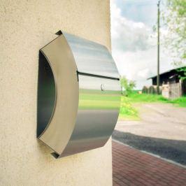 Aufputz-Briefkasten Santa Fe aus Edelstahl
