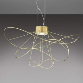 Axolight Hoops 3 - goldveredelte LED-Hängeleuchte