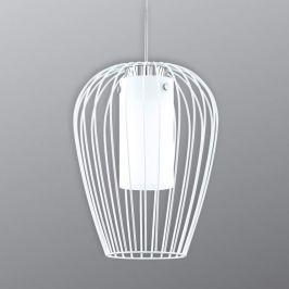 LED-Hängeleuchte Vencino aus Stahl