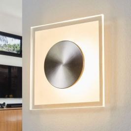 Helestra Alide - quadratische LED-Wandleuchte