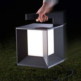 Tragbare moderne LED-Tischleuchte Mineur für außen