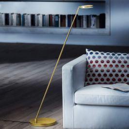 Holtkötter Plano S - LED-Stehleuchte, messing