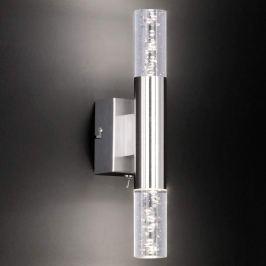 Auf- und abwärts strahlende LED-Wandleuchte Bubble