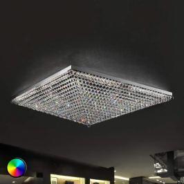 Beeindruckende Deckenleuchte Ascana m. RGB-LED