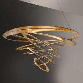 Loop Design-Pendelleuchte in Gold