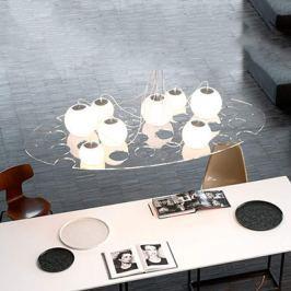 Oluce Plateau - ovale Designer-Hängeleuchte