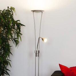 Yohann - LED-Deckenfluter, nickel matt