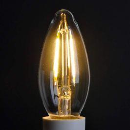 E14 2W 827 LED-Kerzenlampe, klar