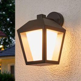 Dunkle LED-Außenwandlampe Keralyn