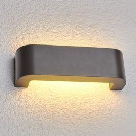 Eberta - LED-Außenwandleuchte in Grafitgrau