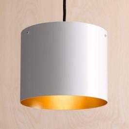 ANTA Afra LED-Hängeleuchte weiß-gold