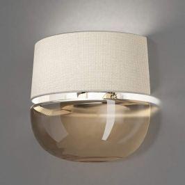 de Majo Dome A26 LED-Wandleuchte grau