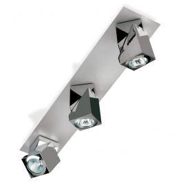 Glänzender LED-Deckenstrahler Praktyk, 3-flammig