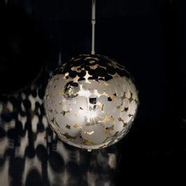 Stylische Kugel-Hängeleuchte BUBBLES 35 lichtgold