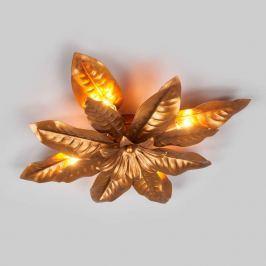 Beispiellos schöne Deckenleuchte FLEURIA - gold