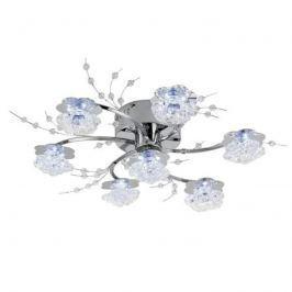 LED Kristallglasleuchte mit Fernbedienung 7-fl.