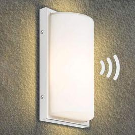 Effiziente LED-Außenwandleuchte Mikka mit Sensor