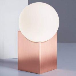 Cub - Nachttischlampe in Kupfer
