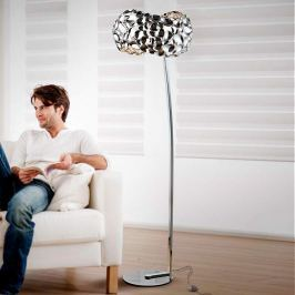 Effektvolle Beleuchtung - LED-Stehlampe Narisa