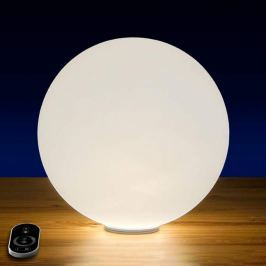 Dimmbare LED-Akku-Kugelleuchte Snowball, 30 cm