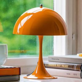 Louis Poulsen Panthella Mini, Tischlampe orange