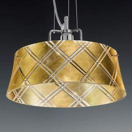 Elegante Hängeleuchte CORALLO 30 1-flammig, gold