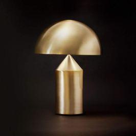 Oluce Atollo - edle Designer-Tischleuchte, gold