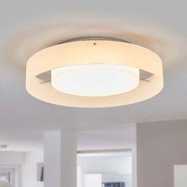 Dezente LED-Deckenleuchte Rosina mit hellem Licht