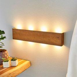 Maja - dimmbare LED-Wandlampe mit Rostoberfläche