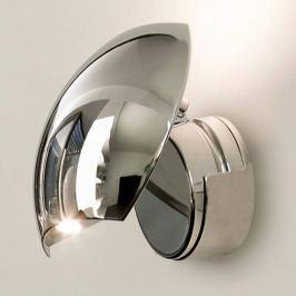 Chromglänzende LED-Wandleuchte Swing, verstellbar