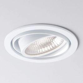 Weißer LED-Einbauspot Now 2 Round medium 4.000K