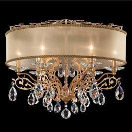 Schonbek Filigrae - Kristall-Deckenlampe, gold
