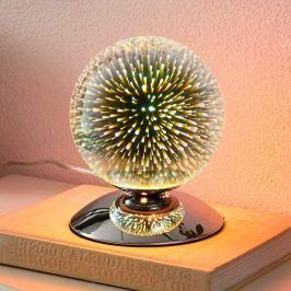 Effektvolle Tischlampe Isumi in Kugelform