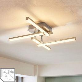 4-flammige LED-Deckenlampe Laurenzia, Dimmer