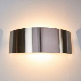 Nickelfarbene LED-Wandlampe Rafailia