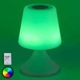 Steuerbare USB-LED-Dekoleuchte Peer m Lautsprecher