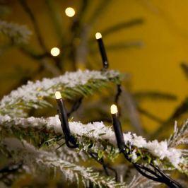 LED-Microlichterkette warmweiß 20-flammig, 13,04 m