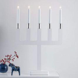 Sundstorp - zeitlos schöner Kerzenleuchter in Weiß