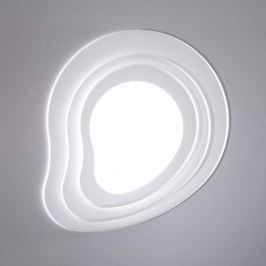Weiße LED-Deckenlampe in extravagantem Design