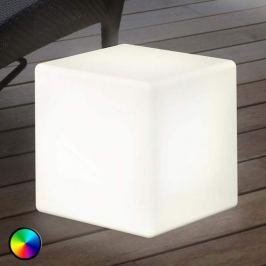 Außendekorationsleuchte LED Shining Cube 43 cm