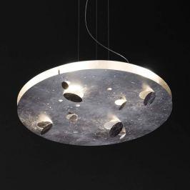 Knikerboker Buchi LED-Hängeleuchte mit Blattsilber
