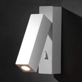 Praktische LED-Wandleuchte Hall weiß